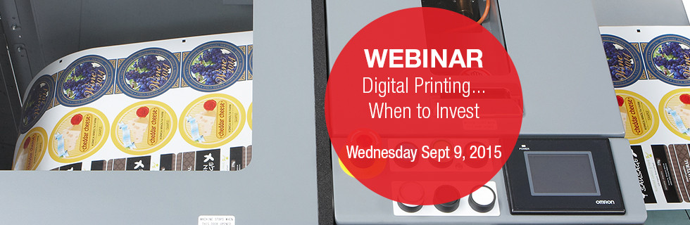 Webinar - Digital Printing... When to Invest