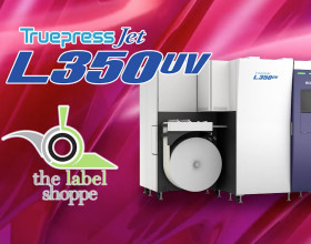 The Label Shoppe Proud to Own Screen Truepress Jet L350UV